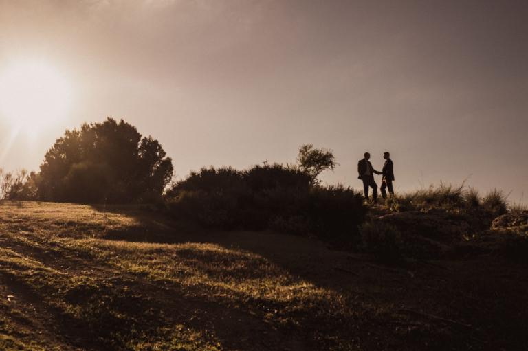 Fotos de novios en el campo